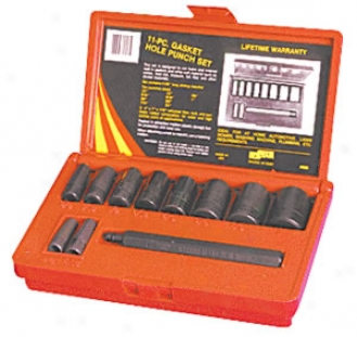 11 Pc. Gasket Hole Punch Value