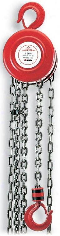 1100 Lb. Capacity Chain Hoist