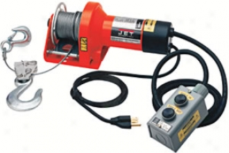 115v Electric Winch 5/32'' X 45' Cable, 1,000-lb. Power