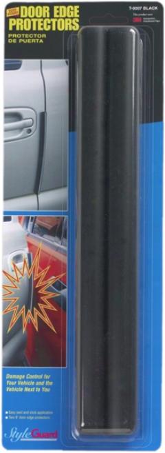 12'' Black Tuff-guard Door Protectors (pair)