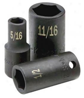 1/2'' Dr. Standard Fractional Pack together Socket - 1/2'', 12 Pt.