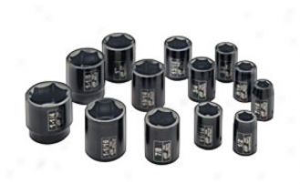 1/2'' Drive Fractional Set - 13 Piece