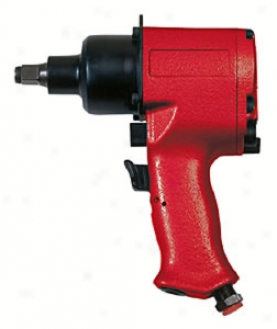 1/2'' Sqr. Dr.H eavy-duty Industrial Impact Wrench, Pistol Grip