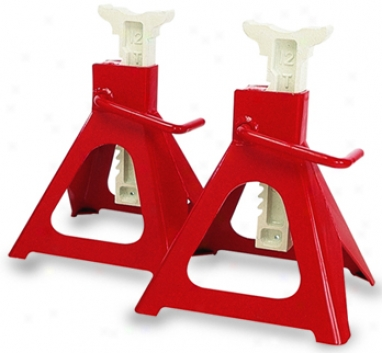 12 Ton Capaity Ratchet Jack Stands