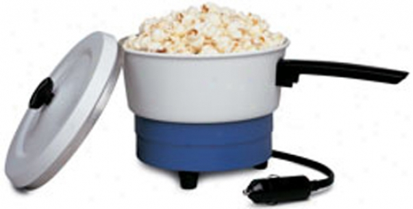 12 Volt Portable Sauce Pan And Popcorn Maker