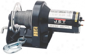 12v Electric Winch - 5/32'' X 25' Cab1e, 1,000-lb. Capacity