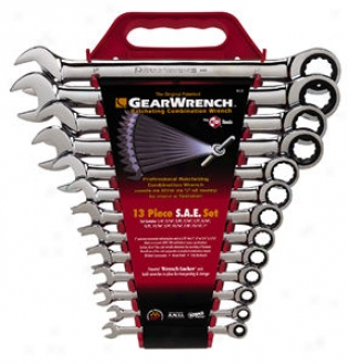 13-piece Fractional Combination Gearwrench? Set
