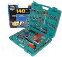 140 Piece Tool Set