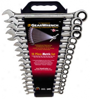16-piece Metric Combination Gearwrench? Swt