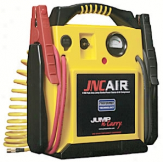 1700 Peak Amp 12 Volt Jump Starter Wity Onboard Air Compressor