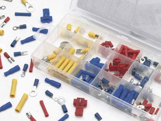 175 Piece Terminal Assortment