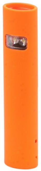 2 Led Orange Dual-mode, Multi-purpose, Slim-line Flashlight