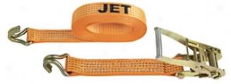 2'' X 27' Ratchet Straps Assemblies- J-hook, 3,300-lb. Wll, 10,000-lb. Breach Strength