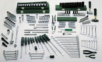 215 Piece Mechanics Tool Set
