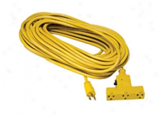 25' Extension Cord With Circuit Breaker