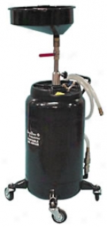 25 Gallon Heavy-duty Self-evacuating Oil Drain