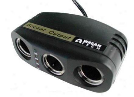 3-way Socket Output W/ Battery Algebra