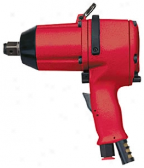 3/4'' Sqr. Dr. Heavy-duty Industrial Impact Wrench, Pistol Grip