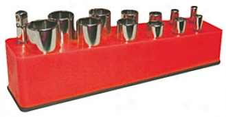 3/8'' Deep Drive Holder - Red