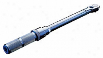 3/8'' Dr. Micrometer Click Type Torque Wrench With Felx Chief - 20-10 Lb. Ft.