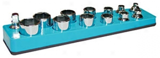3/8'' Shallow Socket Holder - Blue