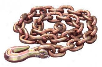 3/8'' X 8' Frame Straightening Chain With Grab Hook