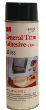 3m Aerosol General Trim Sticky Clear (18.1 Oz.)