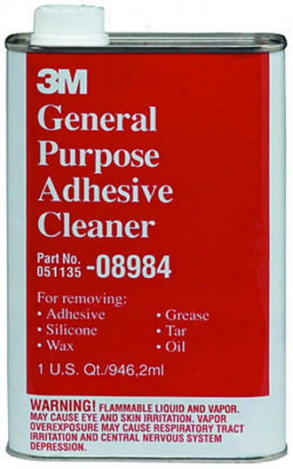 3m General Purpose Adhesive Cleaner (1 Qt)