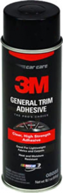 3m General Trim Adhesive Clear - 16.25oz Aerosol Can