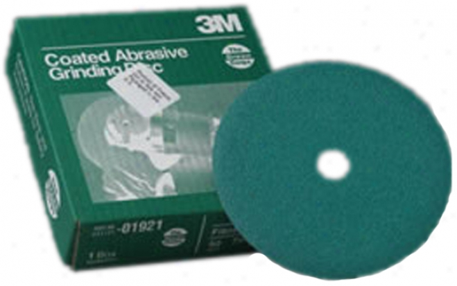 3m Green Corps 7'' Grinding Disc (grade 24)