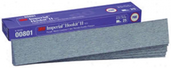 3m Imperial Hookit Ii Discs/sheets (e Weight) 2-3/4''x16-1/2''-p80e