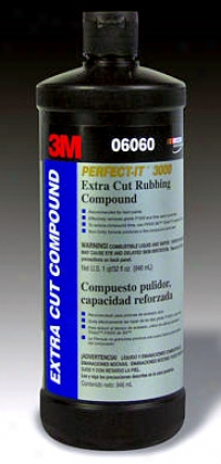 3m Perfect-it 3000 Unusual Cut Rbubing Compound