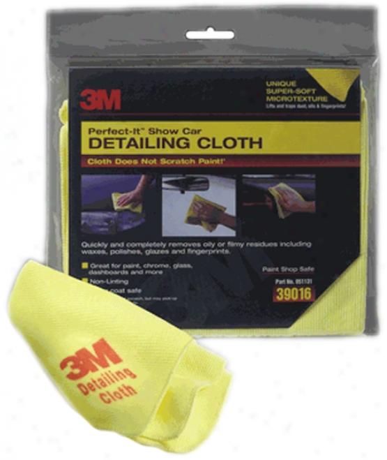3m Show Czr Detailing Cloth - 12'' X 14''