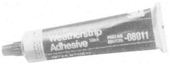 3m Weatherstrip Adhesive - Black (5 Oz.)