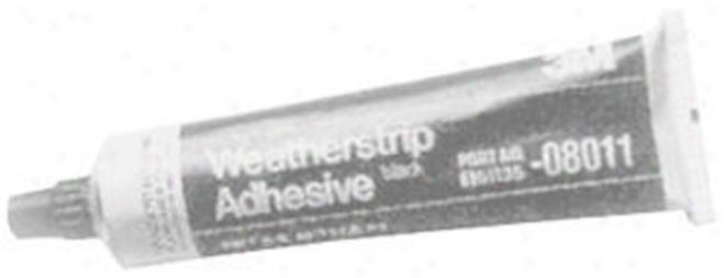 3m Weatherstrip Adhesive - Black (5 Oz.)