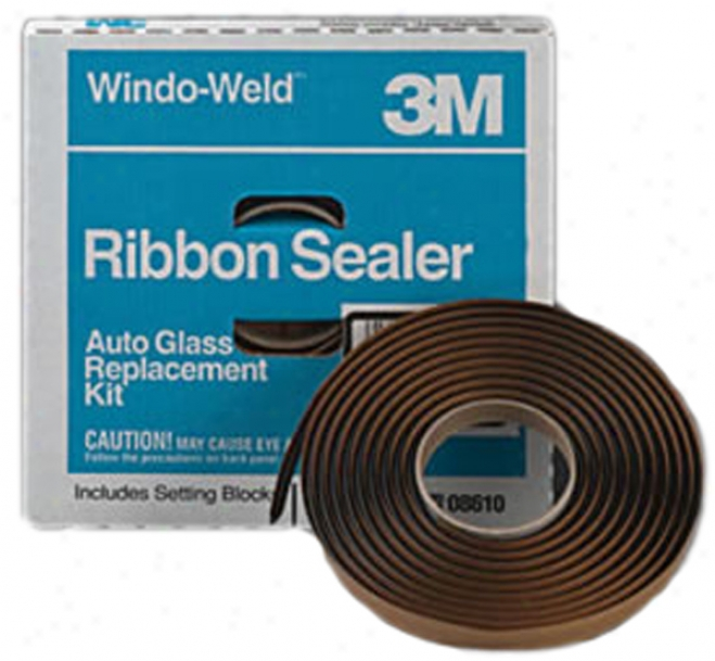 3m Windo-weld Ribbon Sealer Black - 1/4'' X 15'