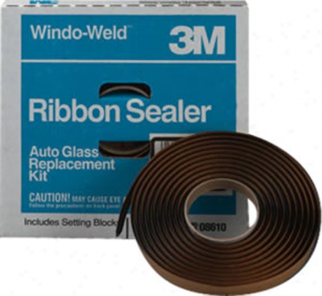 3m Windo-weld Ribbon Sealer Black - 3/8'' X 15'