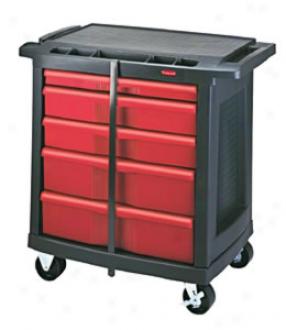 5-drawer Mobile Work Center