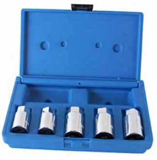 5 Pc. Broken Stud Puller Socket Set