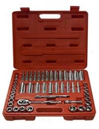 50 Pc 3/8'' Dr General Service Socket Set