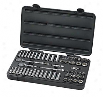 57 Piece, Gearwrench? 3/8'' Drive, 6 Point, Fractional /metric Master Socket Set
