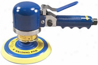 6'' Daq Random Orbital Sander With Pad