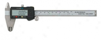 6? Digital Caliper With Large Lcd Face