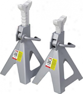 6-tons Ratchet Style Jack Stands - Pair