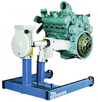 6000 Lbs. Revolver Diesel Engine Stand