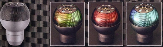 7 Collor Mesh Shift Knob
