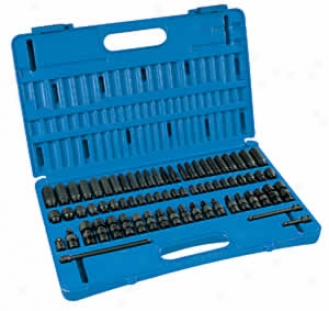 71 Pc. 1/4'' Drive Overpower Impact Socket Set