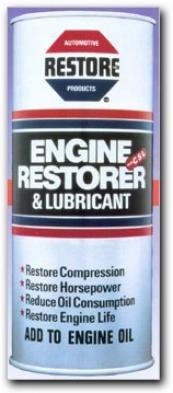 8 Cylinder Engine Restorer & Lubricant (19 Oz.)