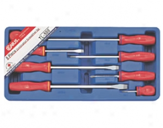8 Piece Combination Screwdriver Set