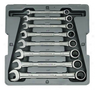8-piece Fractional Combination Gearwrench? Set